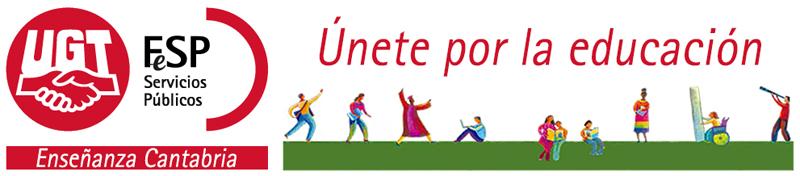 FETE UGT Cantabria Logo
