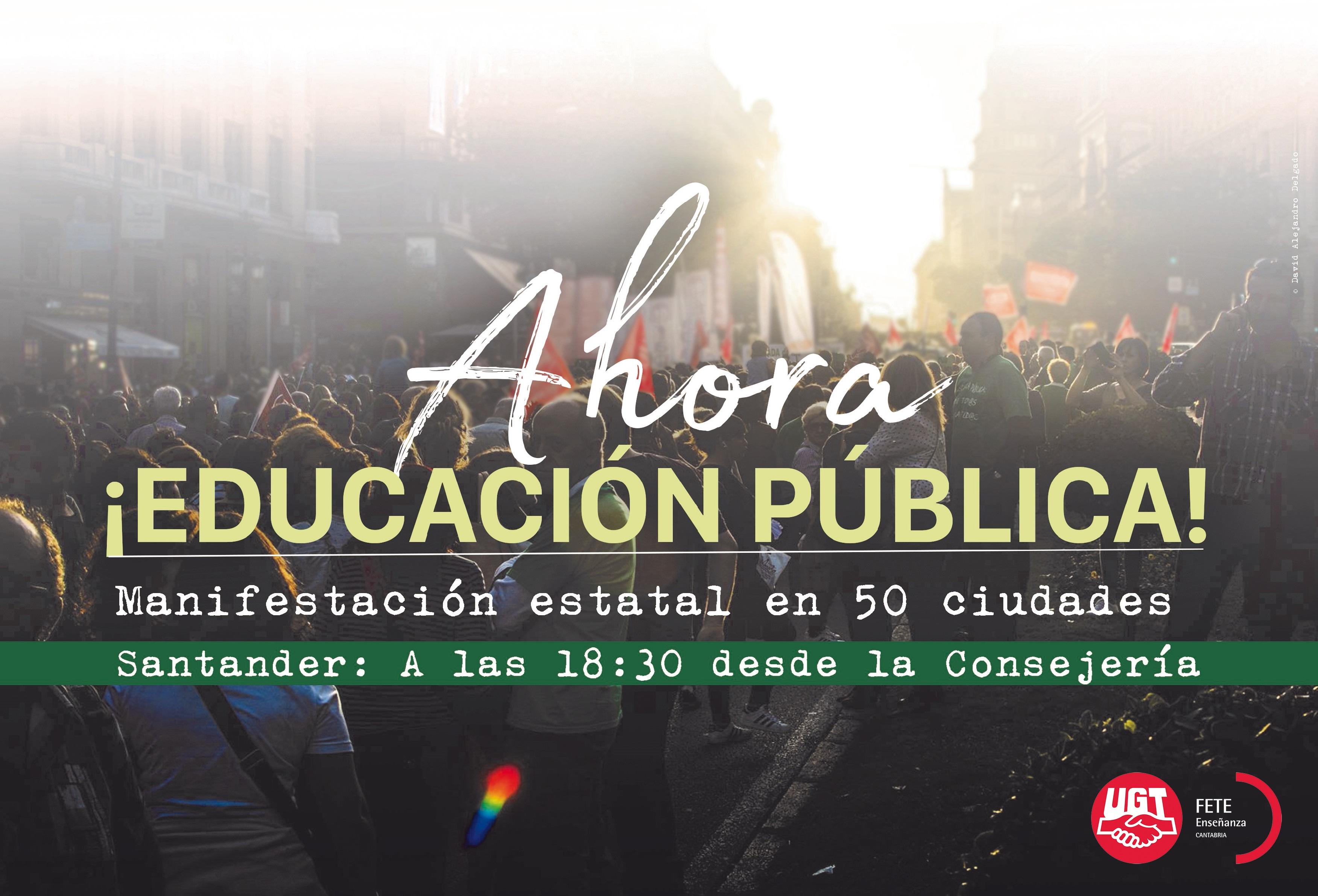 Enseñanza pública - FETE UGT Cantabria