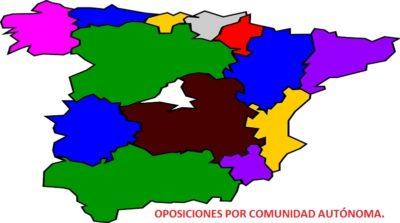 MAPA OPOSICIONES